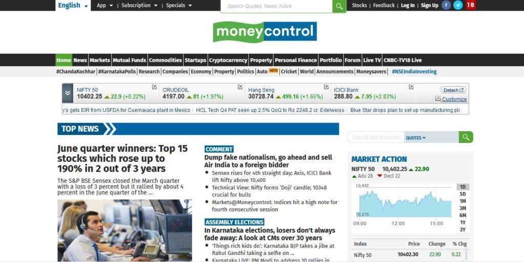 Moneycontrol