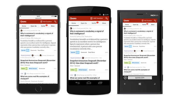Quora – Apps for Bloggers