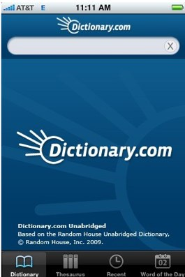 Dictionary – Apps for Bloggers