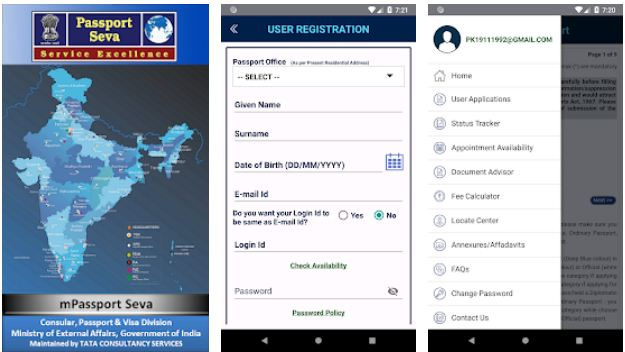mPassport Seva – Indian Government Apps