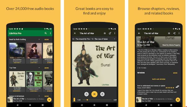 LibriVox – Audiobook Apps for Android