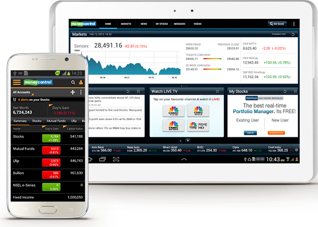 moneycontrol - Finance Apps for Android