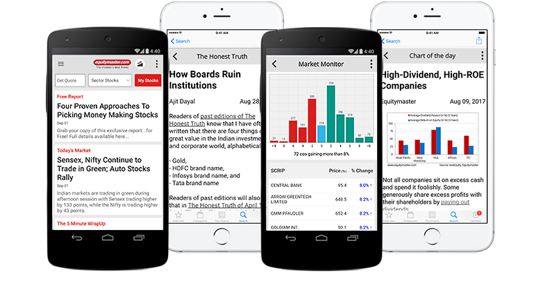 Equitymaster – Finance Apps for Android