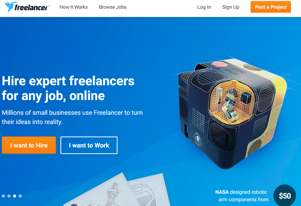Freelancer -Best Freelancing Websites