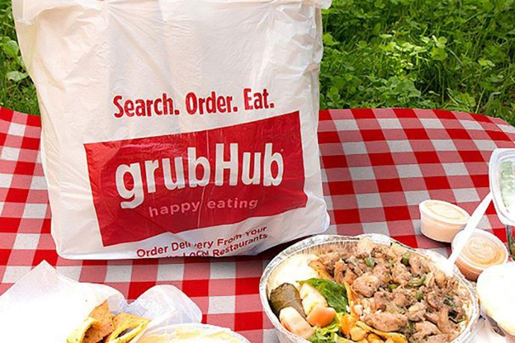 grubhub - Top Online Food Delivery Websites