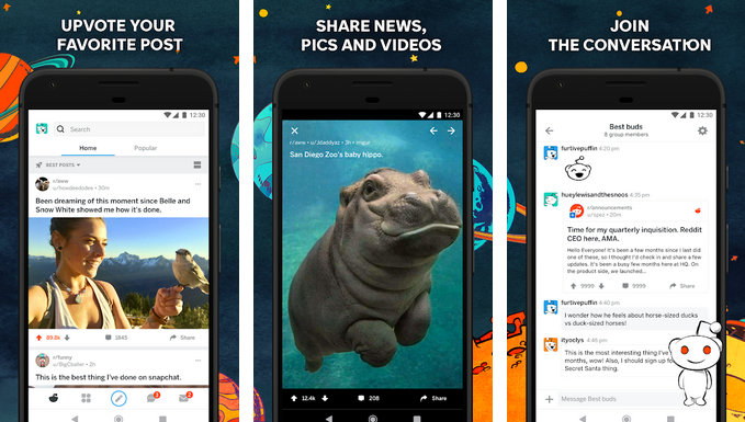 Reddit – Social Media Apps for Android