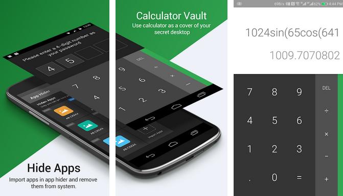 Calculator Vault App Hider