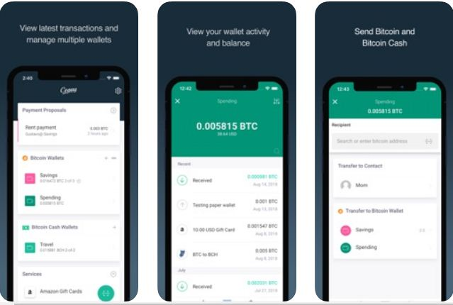 Copay – Best Bitcoin Wallet Apps for Android