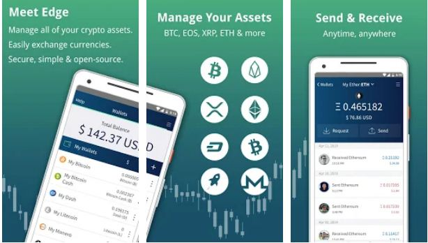Edge – Best Bitcoin Wallet Apps for Android
