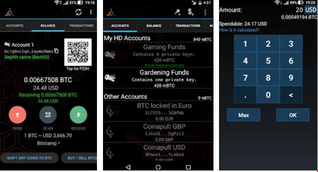 Mycelium – Best Bitcoin Wallet Apps for Android