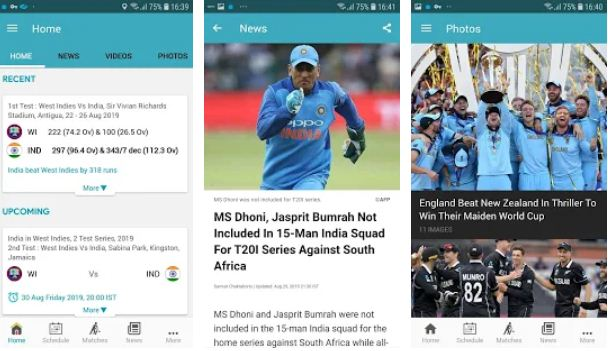NDTV Cricket – Cricket Apps for Android