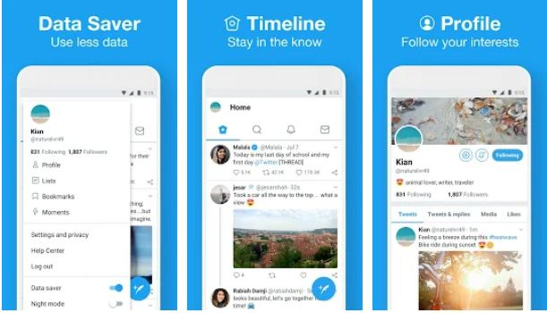 Twitter Lite – Best Lite Apps for Android