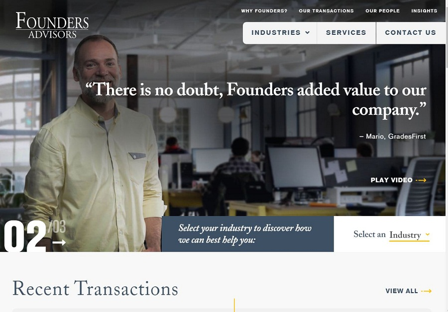 Founders IB – Buy and Sell Websites