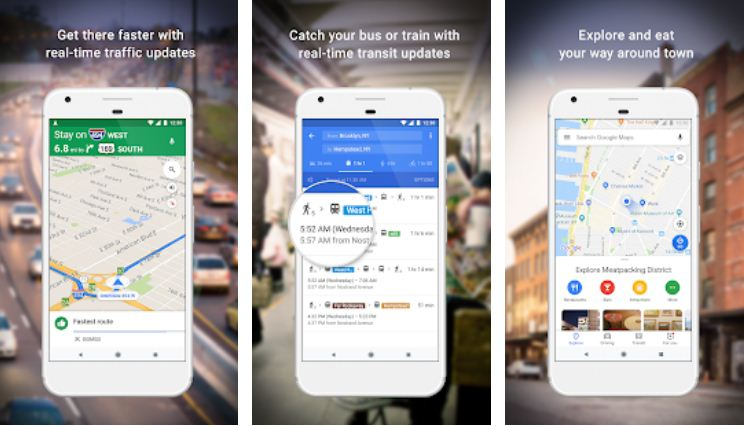 Google Maps – Best Google Apps for iPhone and Android