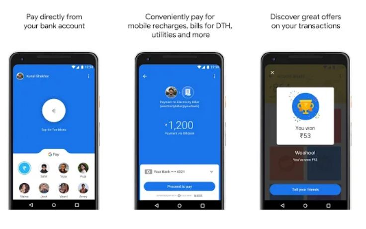 Google Pay (Tez) – Best Google Apps for iPhone and Android