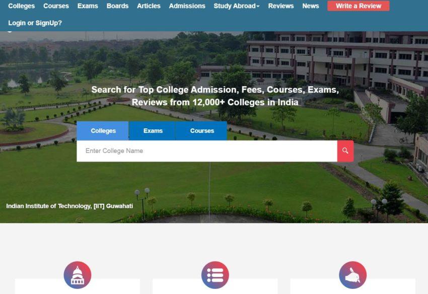 getmyuni.com - Education Websites in India
