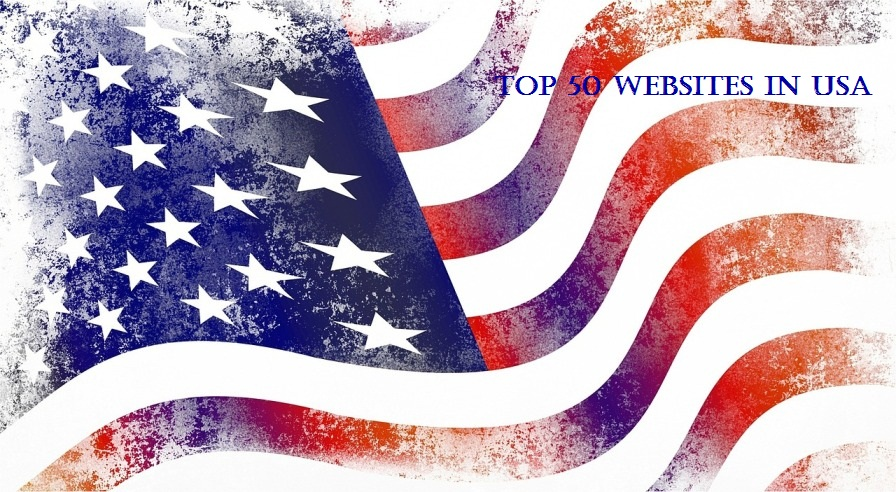 Top 50 Websites in USA