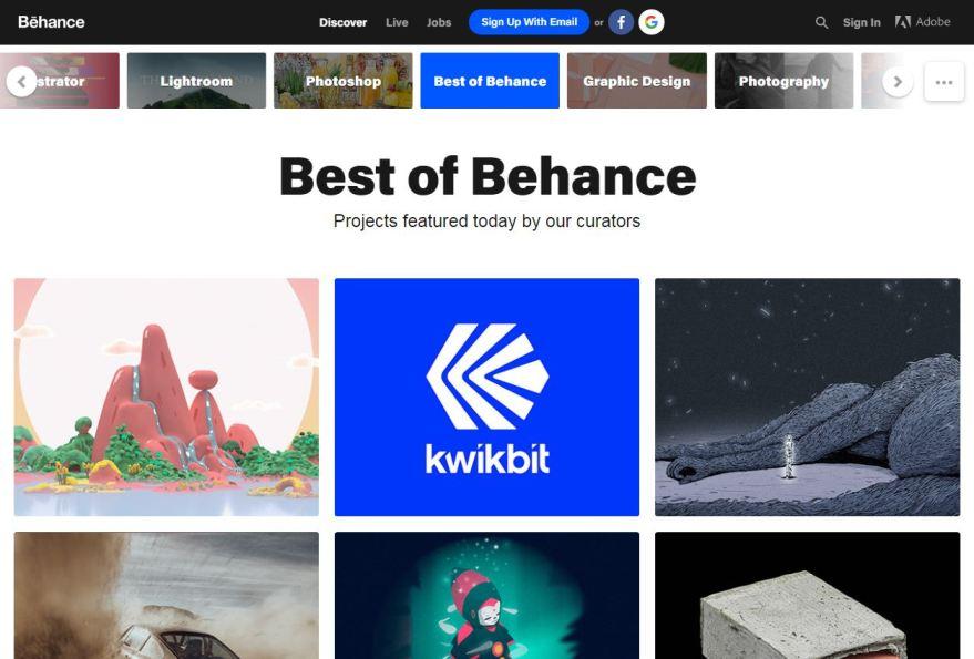 Behance.net – Best Free Photo Sharing Websites