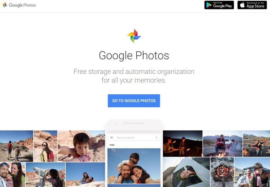 Google Photos– Best Free Photo Sharing Websites