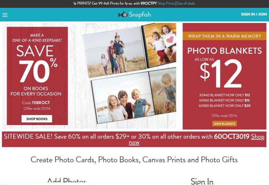 Snapfish.com– Best Free Photo Sharing Websites