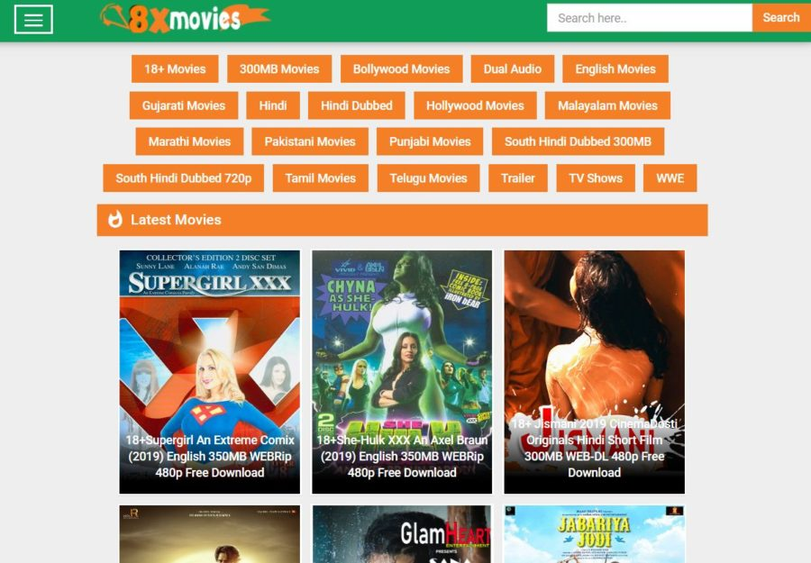 8XMovies - Download Bollywood & Hollywood Movies
