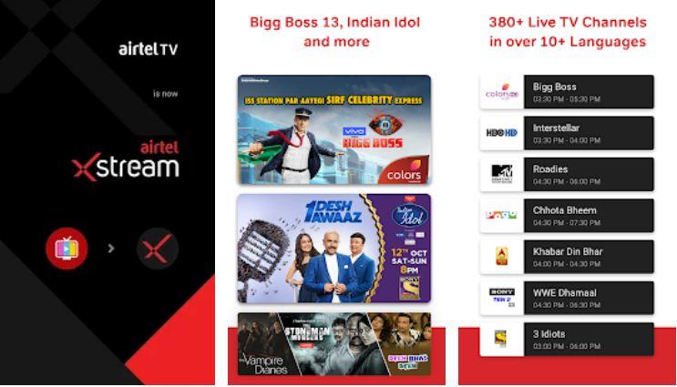 Airtel TV – IPL Apps