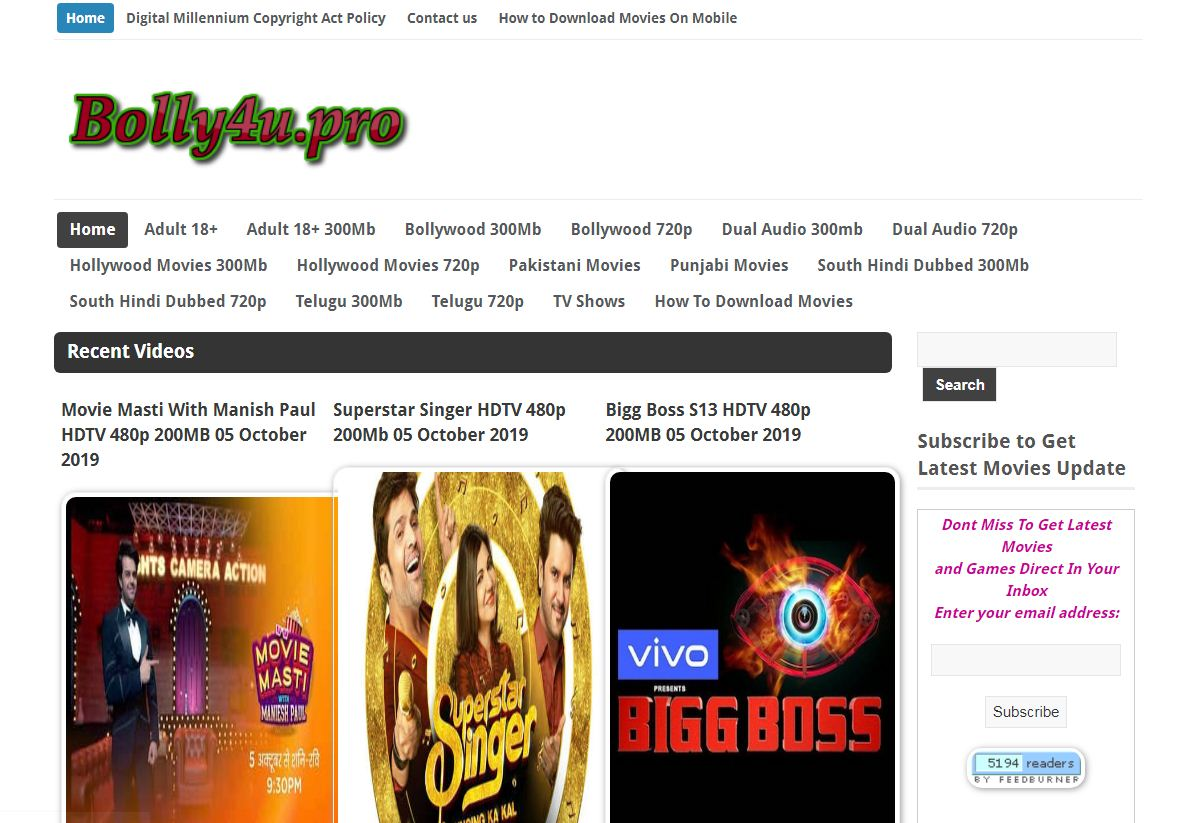 Bolly4u - Download Bollywood & Hollywood Movies