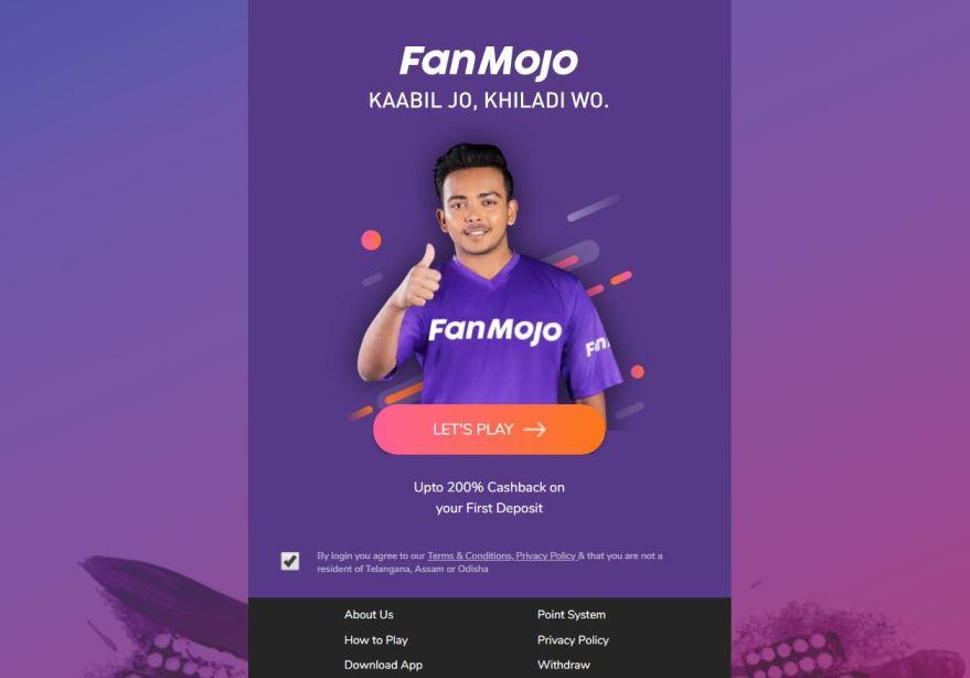 FanMojo – Fantasy Cricket Apps List