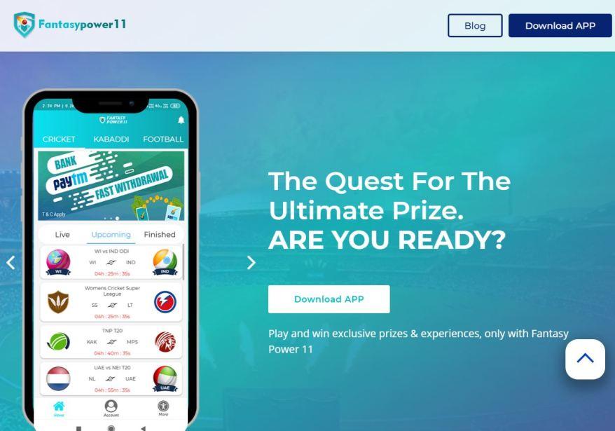 Fantasy Power11 – Fantasy Cricket Apps List