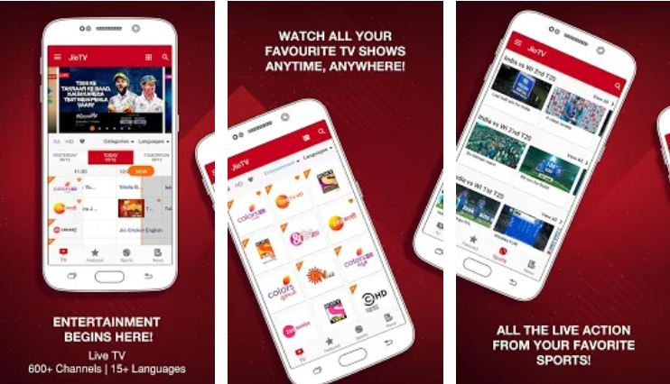 Jio TV- IPL Apps
