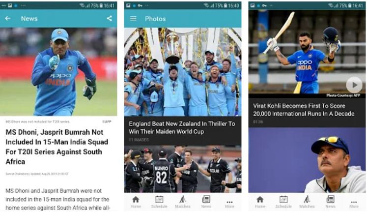 NDTV Cricket – IPL Apps