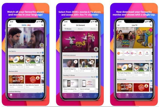 Tata Sky Mobile – IPL Apps