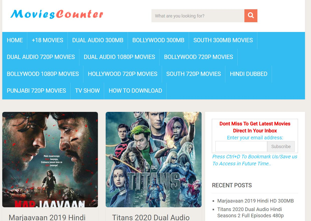 moviescounter