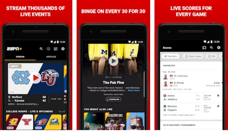 Watch ESPN – Best Firestick Streaming Apps