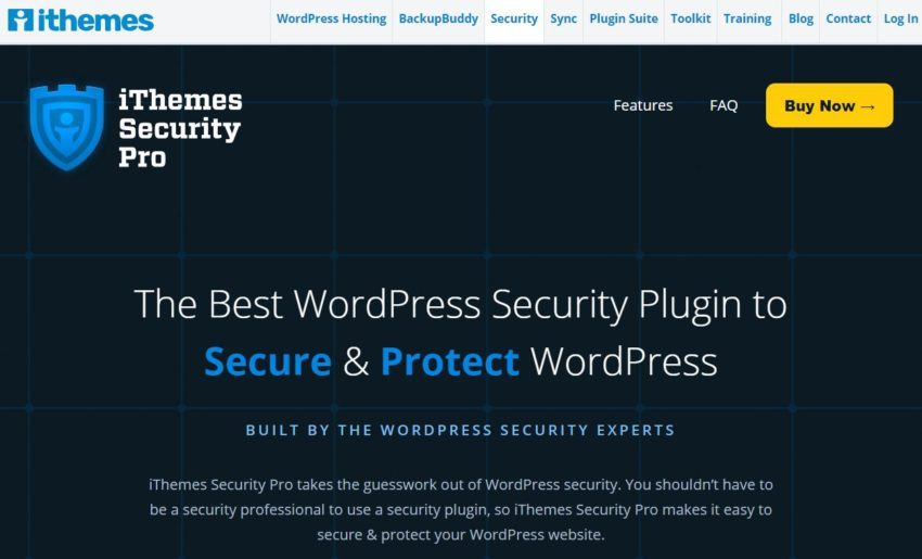 iThemes Security – Best WordPress Security Plugins