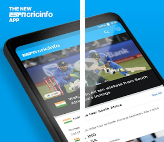 ESPN Cricinfo – Cricket Apps for Android