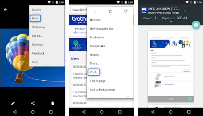 Brother Printer Apps for Android Phone