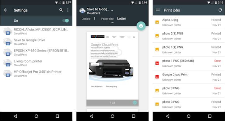 Cloud Print – Printer Apps for Android Phone