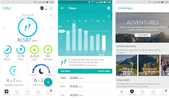 Fitbit - Weight Loss Apps