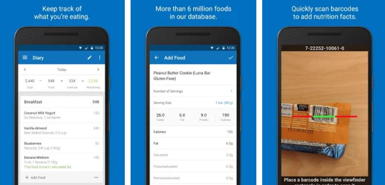 MyFitnessPal - Weight Loss Apps