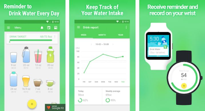 Water Drink Reminder - Weight Loss Apps