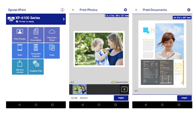epson Printer Apps for Android Phone