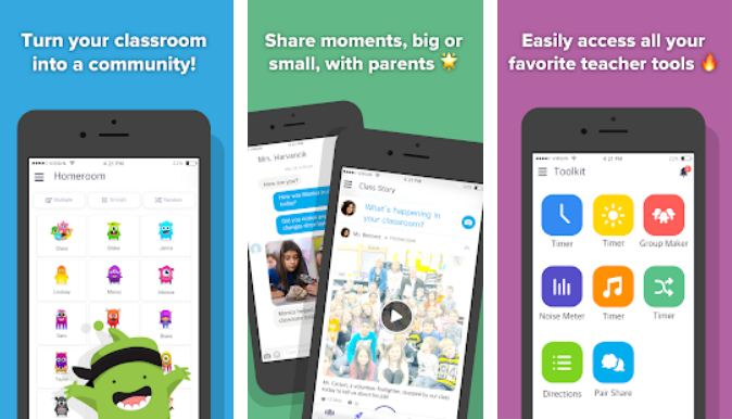 ClassDojo - best apps for teachers