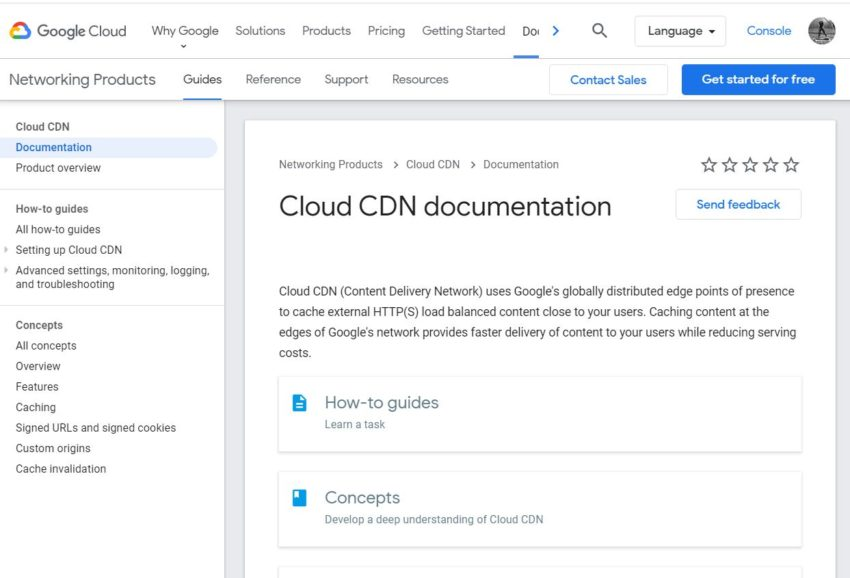 Google Cloud CDN - Best CDN Providers