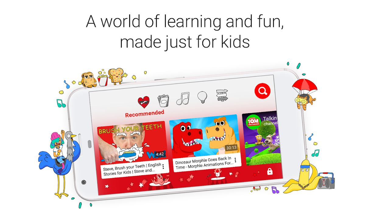 youtube kids - Educational Apps for Kids