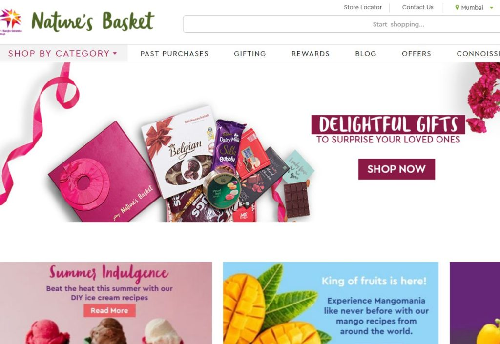 Nature's Basket - Indian Grocery store online