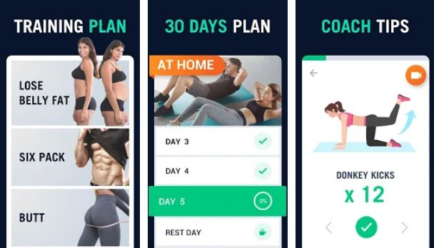 30 Day Fitness Challenge - Workout at Home - Best Fitness Apps for iPhone