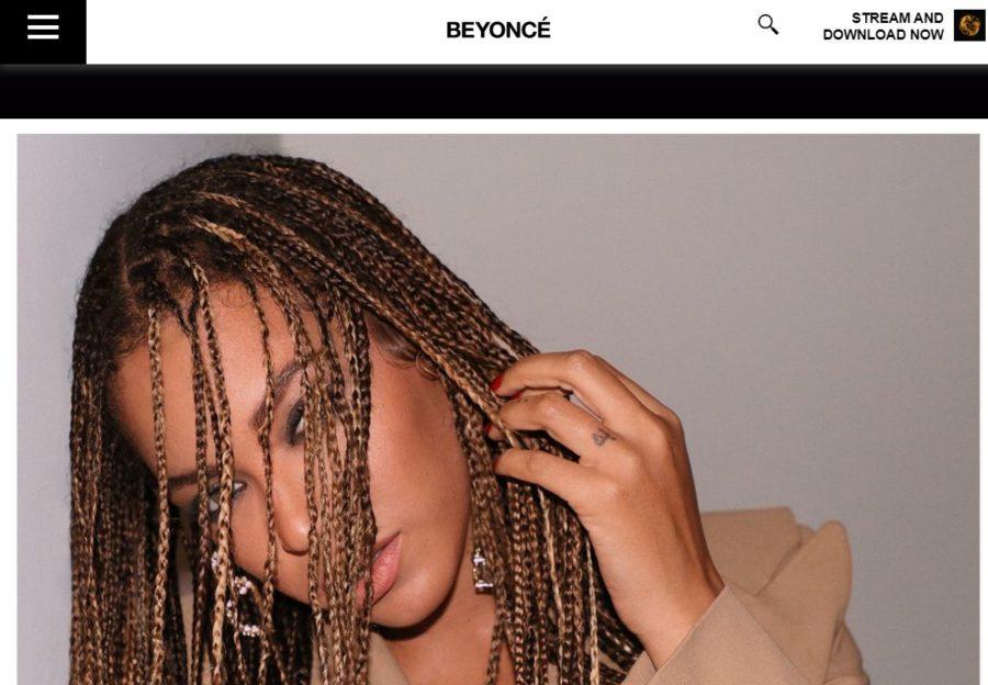 Beyoncé - Foreign Celebrity Websites