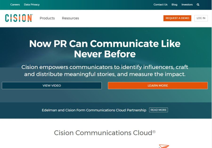 Cision - Websites for Influencers