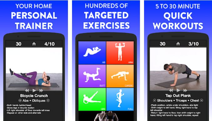 Daily Workouts - Exercise Fitness Work Out Trainer - Best Fitness Apps for iPhone